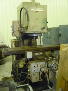"Cincinnati Model 270MK Vertical Mill, 14""x60"" tbl, 25-1500 RPM, 7 1/2 Hp, Heidenhain 2 Axis DRO"