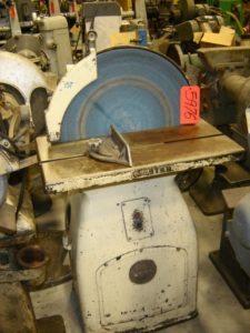 "Master Kindt Collins 24"" Disc Sander, 12""x24"" tilting tbl"