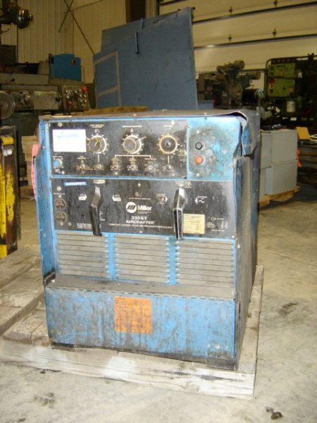 Miller 330ST Aircrafter Tig Welding Power Source, single phase