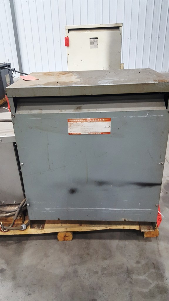 75 KVA, 240/480 High Voltage In, 120/240 Secondary Voltage Transformer
