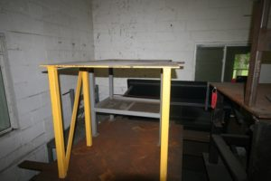"24""x40"" Welding Table 1/2""Thick, 37 1/2 Table Height"
