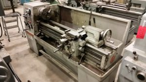 "Clausing Colchester 15"" x 50"" Lathe, 2 1/8"" Spindle Bore"