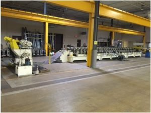 BES Controls Ltd. Roll Form Line