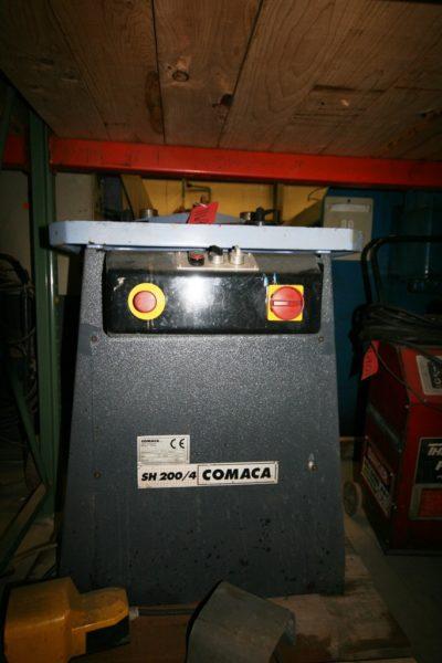 """Comaca Model SH 200/4 Notcher, 8"""" x 8"""""""