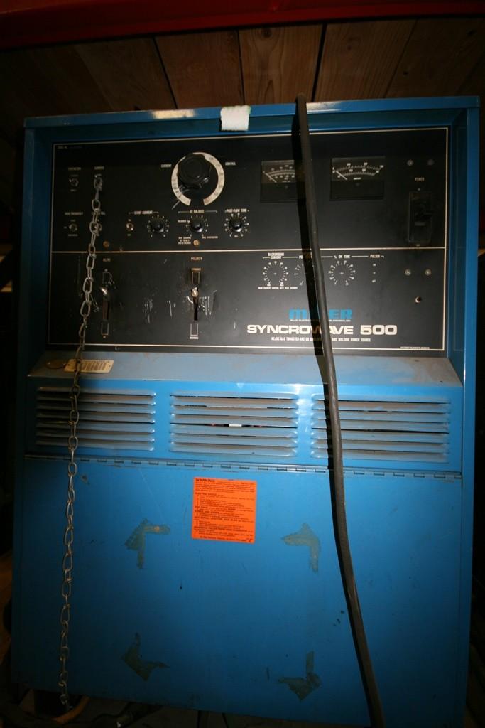Miller Syncrowaver 500 Gas Tungsten Arc Welder