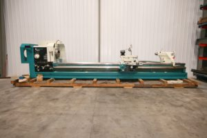 "Clausing 35"" x 200"" Large Swing Lathe, Model MA35200, 12.5"" Spindle Bore - NEW!"
