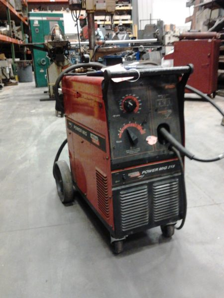 Lincoln Power Mig 215 Welder