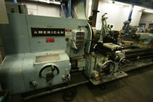 "American 36"" x 96"" Lathe, Style C, 2 3/4"" Spindle Bore"