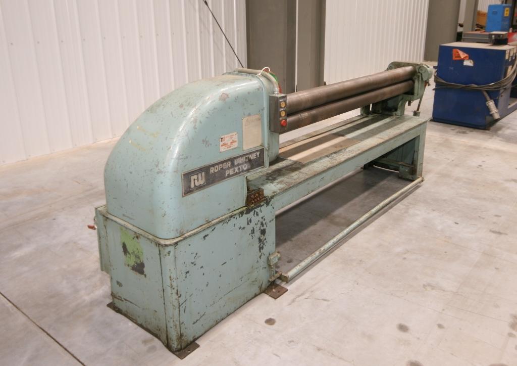Roper Whitney Model Pf 4 74 74 Quot X 16 18 Ga Mild Steel