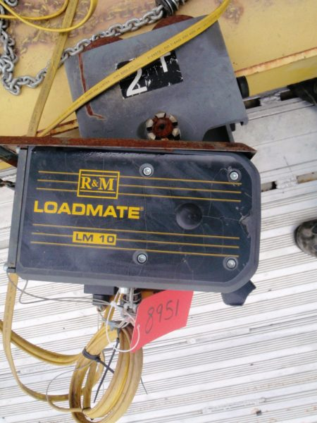 R&M 2 Ton Hoist with Pendant Control Model LM10200017P16S2C