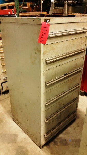 Stanley Vidmar 6 Drawer Cabinet