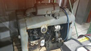 Hercules 4 Cylinder Propane Engine