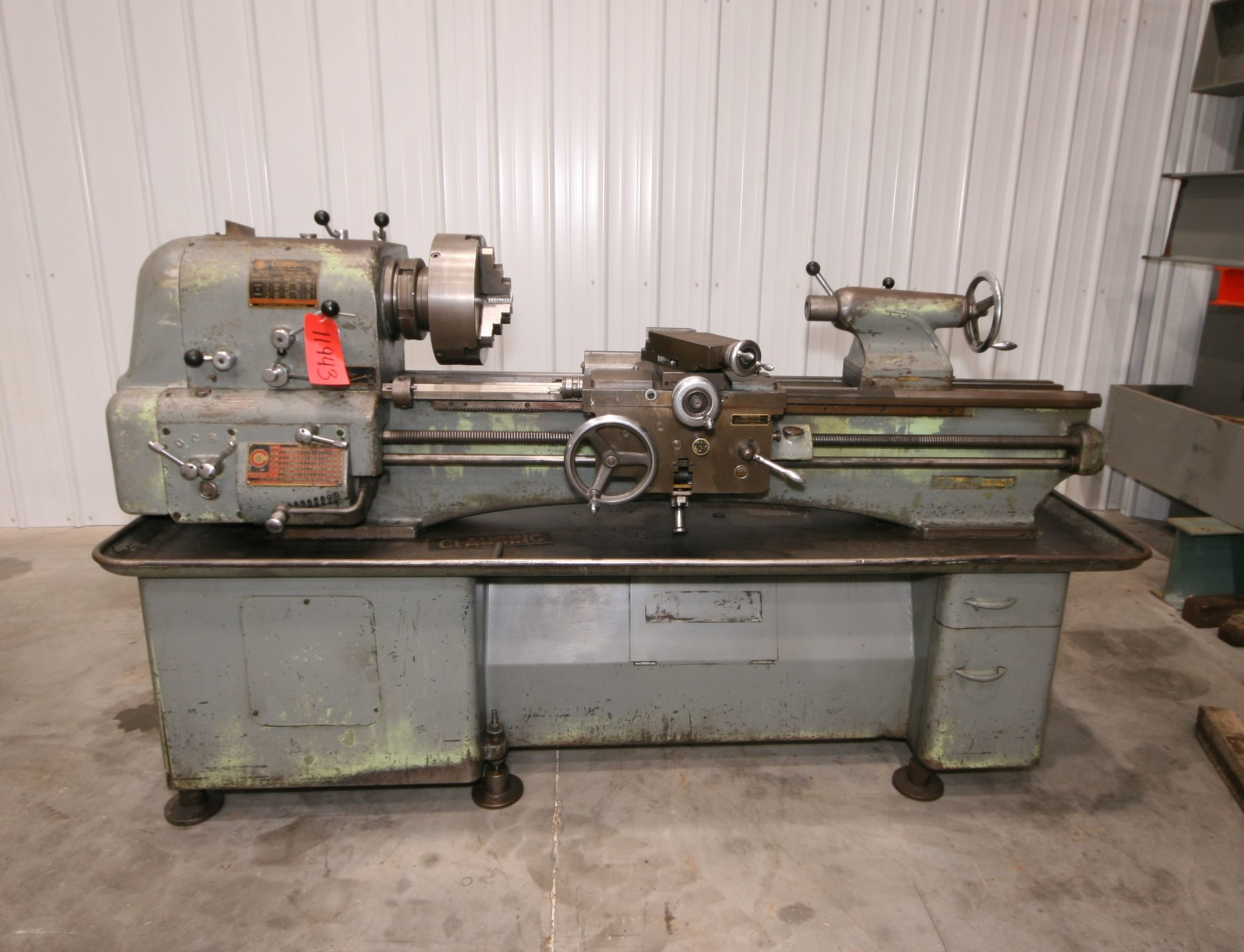 Clausing Colchester 15 X 50 Lathe 2 1 8 Spindle Bore