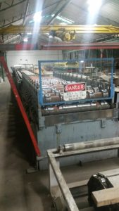 "36"" Ag Panel Rollforming Line"