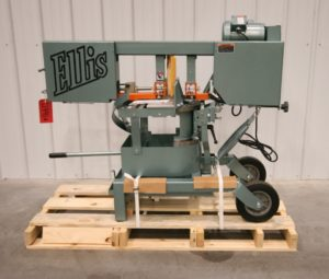 "Ellis Model 1600 Horizontal Saw, 9"" x 10"" - NEW"