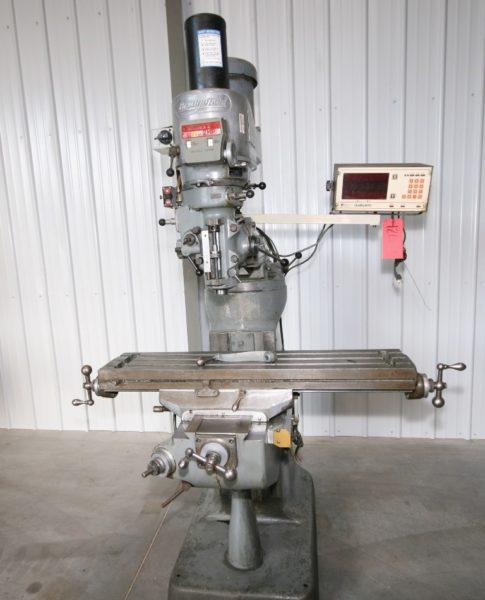 "Bridgeport Series I Vertical Mill, 9"" x 42"" Table"