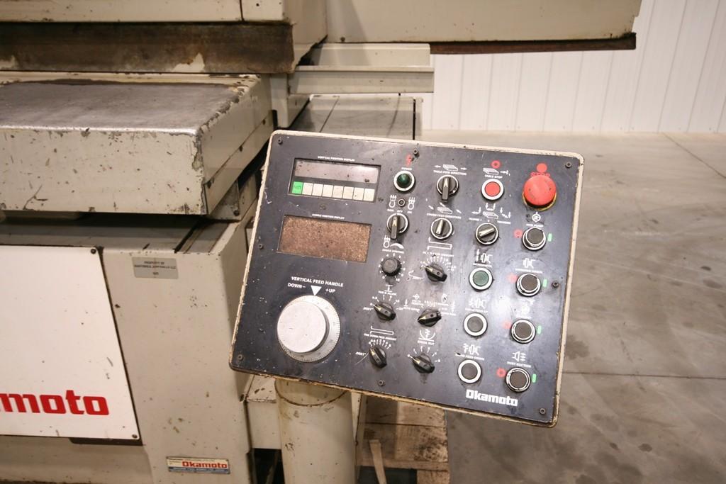 "Okamoto 16"" x 32"" Automatic Hydraulic Surface Grinder, Model ACC16.32DX"