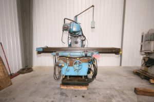 "Kearney & Trecker Model 430TF-17 Horizontal Mill, 80"" x 17"" Table"