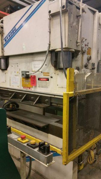 Wysong 6' x 100 Ton Press Brake, Model THS100-72