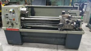"Clausing Colchester 15"" x 50"" Lathe, 2 3/16"" Spindle Bore"
