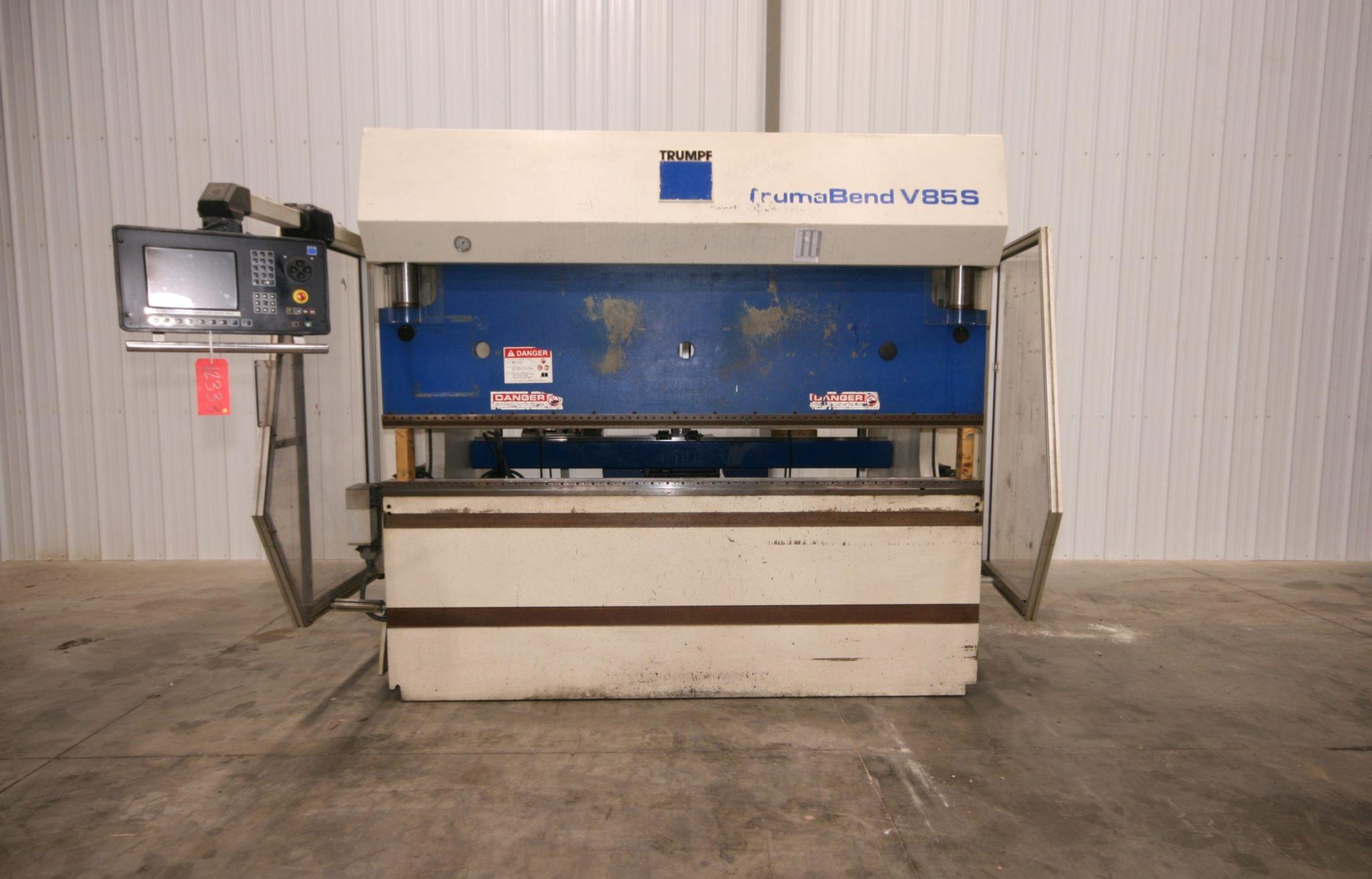 Trumpf Model V85 CNC Press Brake