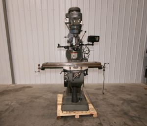 "Bridgeport Series I Vertical Mill, 9"" x 42"" Table"