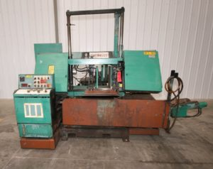 "WF Wells 16"" x 17"" Horizontal Bandsaw, Model F-16-2A"