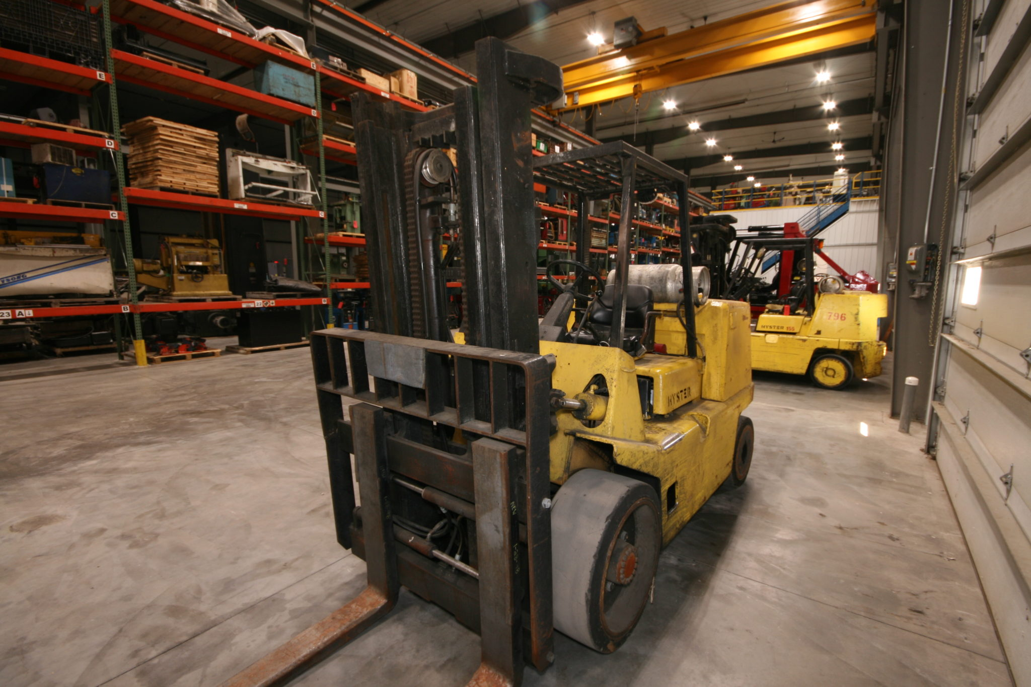 15500lb capacity clark air tired forklift for sale used Array - hyster  15000 lbs capacity forklift model s155xl rh vanderzielmachinery com