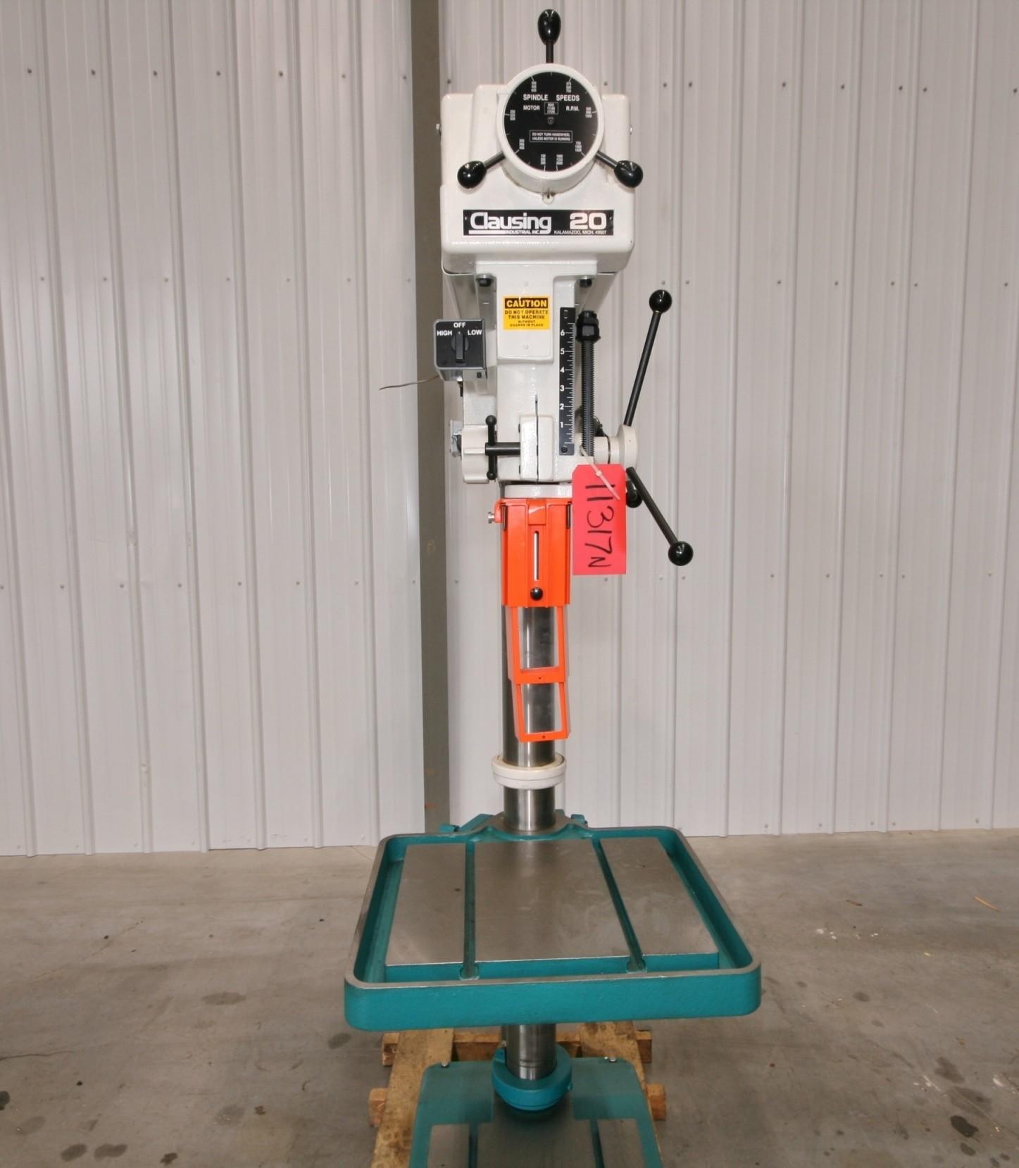 "Clausing 20"" Drill Press, Model 2276 - NEW"