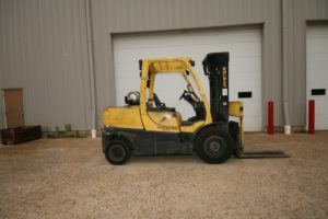 Hyster 10,000 Lbs. Forklift, Model H100FT - 2011