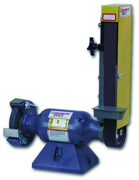 Kalamazoo Industries 2 Quot Belt 7 Quot Bench Grinder Combination