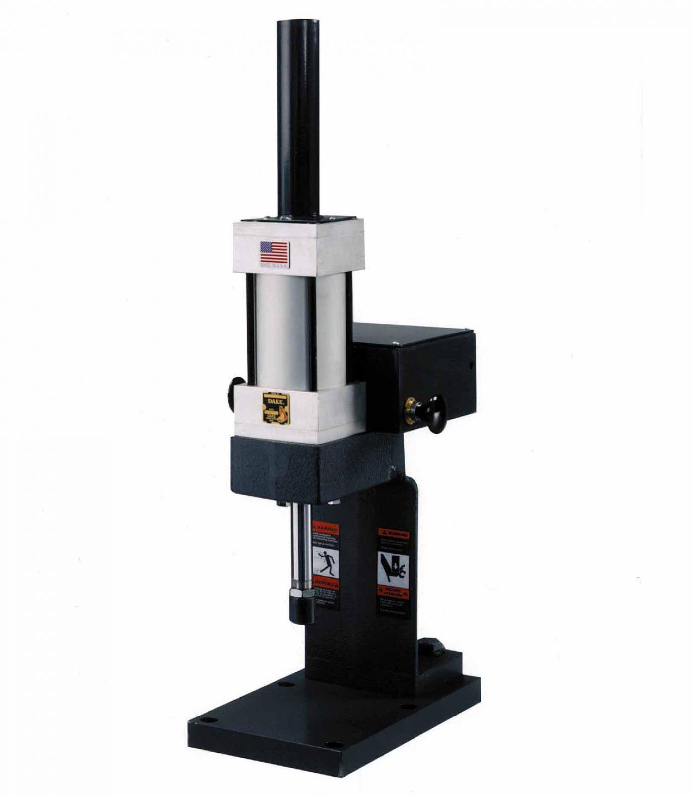 Vertical Lever Press : Dake lbs capacity air arbor press model