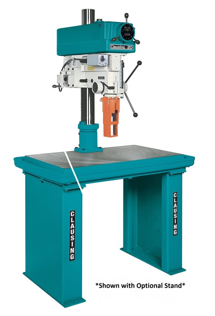 Clausing 20 Quot Variable Speed Drill Press Head And Column