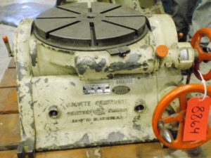 "Societe & Genevoise Type P15, 18"" Rotary Table"