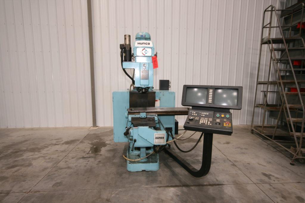 Hurco Cnc Knee Mill Vander Ziel Machinery Sales