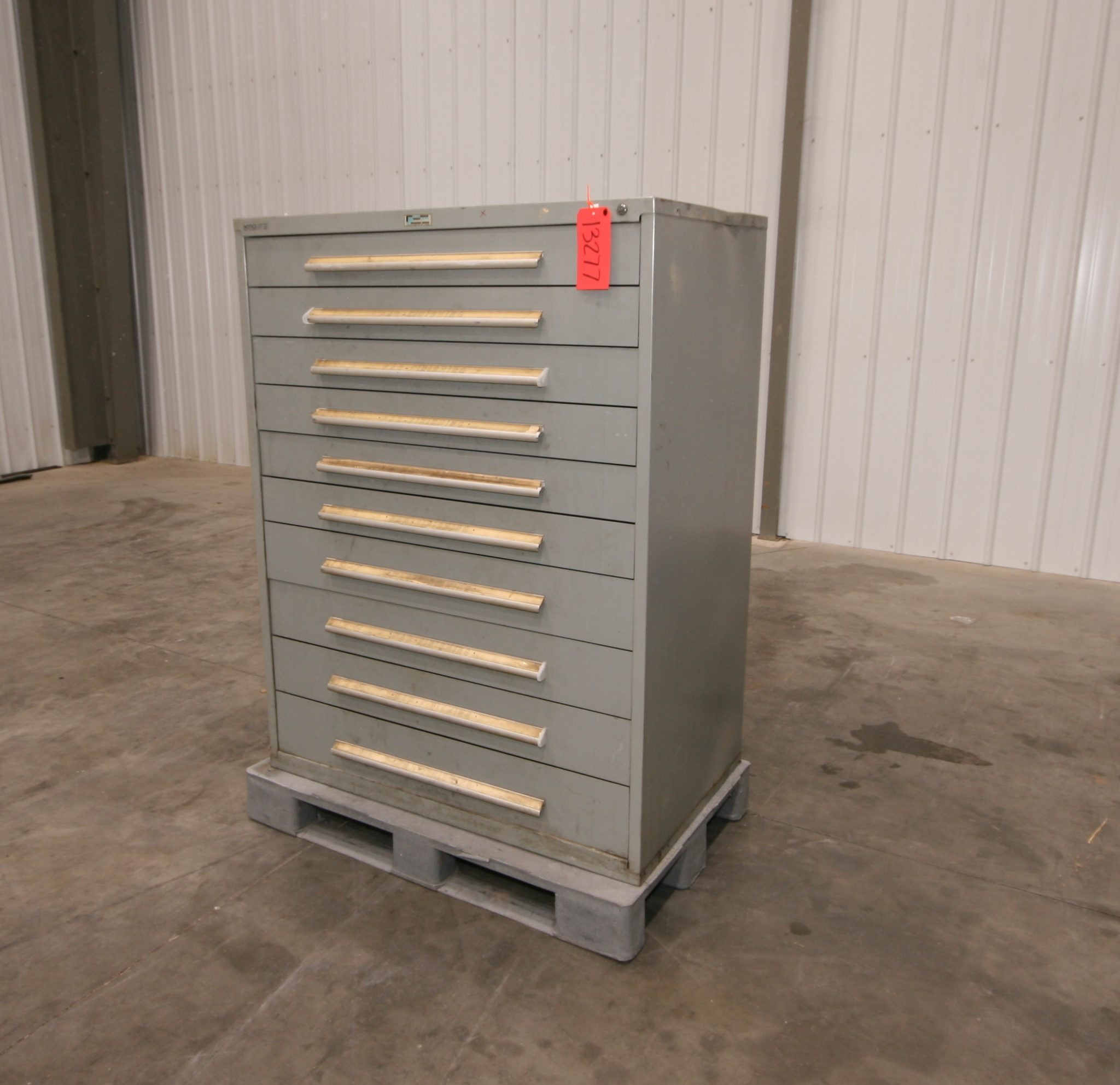 Nu-Era 10 Drawer Wide Cabinet & Nu-Era 10 Drawer Wide Cabinet - Vander Ziel Machinery Sales
