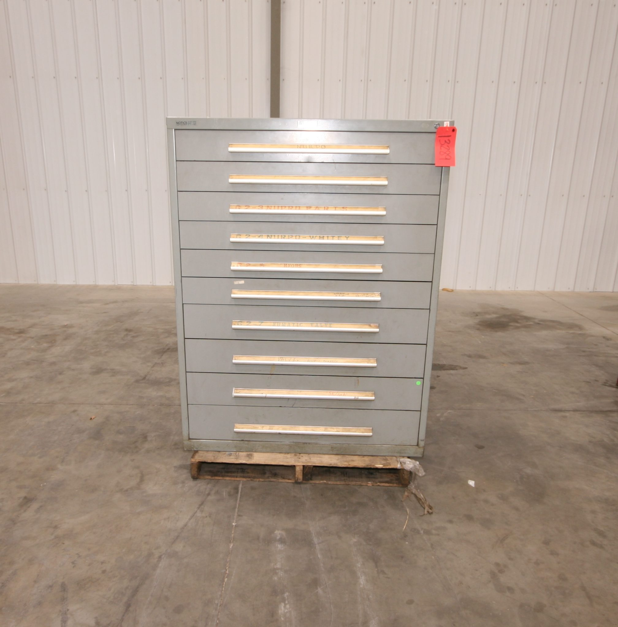 Nu Era 10 Drawer Wide Cabinet