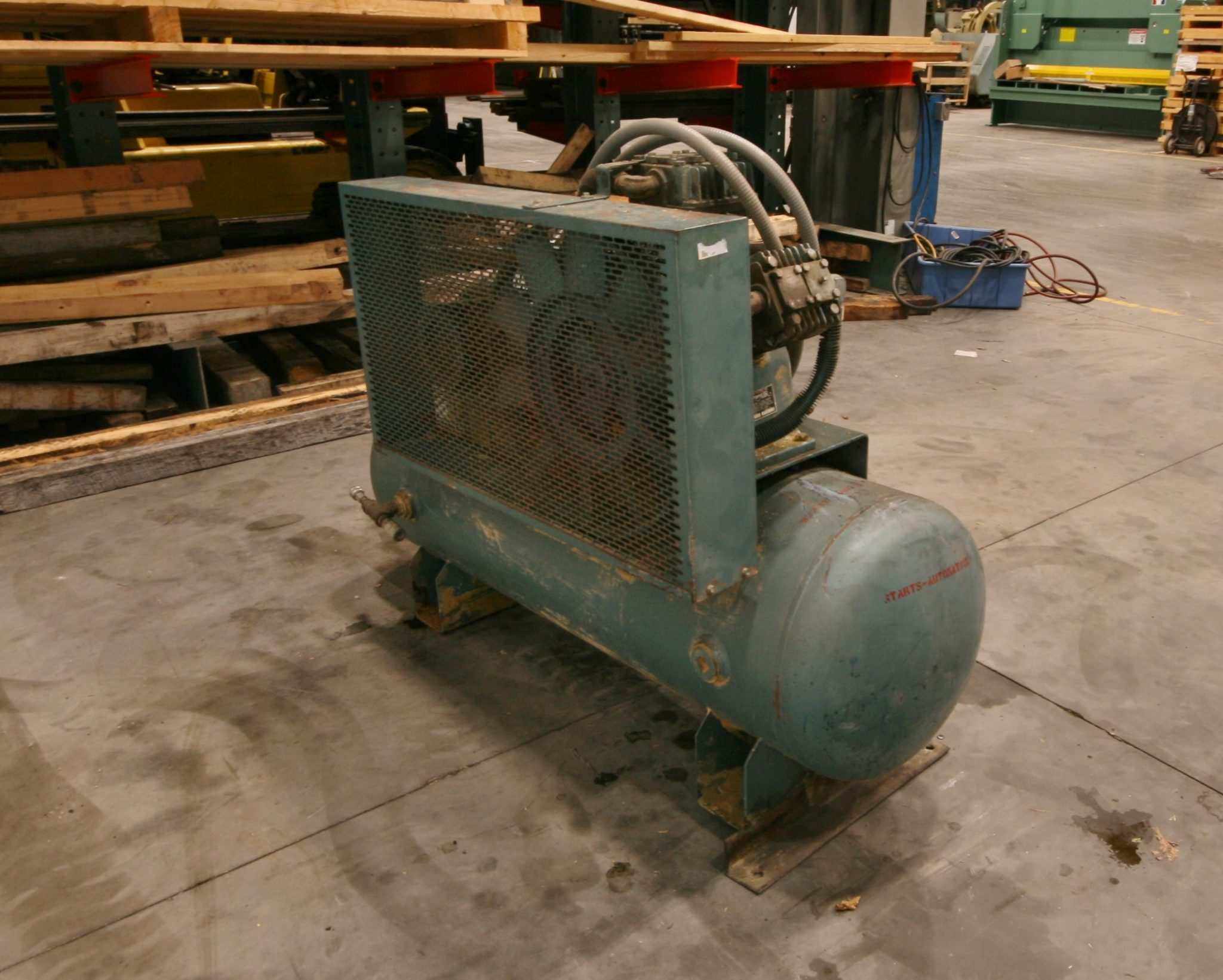 Curtis 10 HP Air Compressor, Model E-71