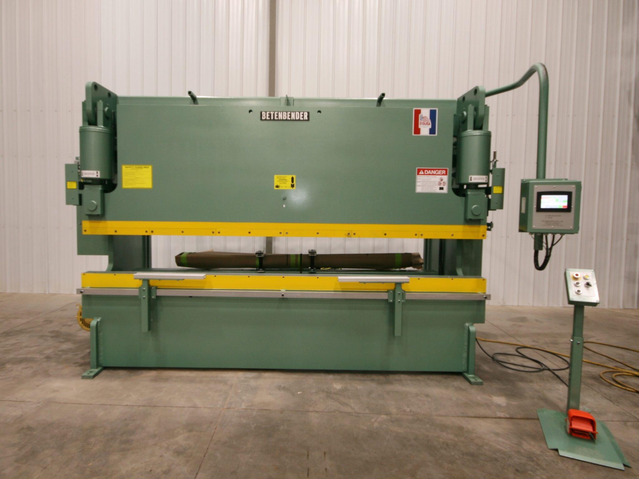 Betenbender 12' x 190 Ton Press Brake - NEW