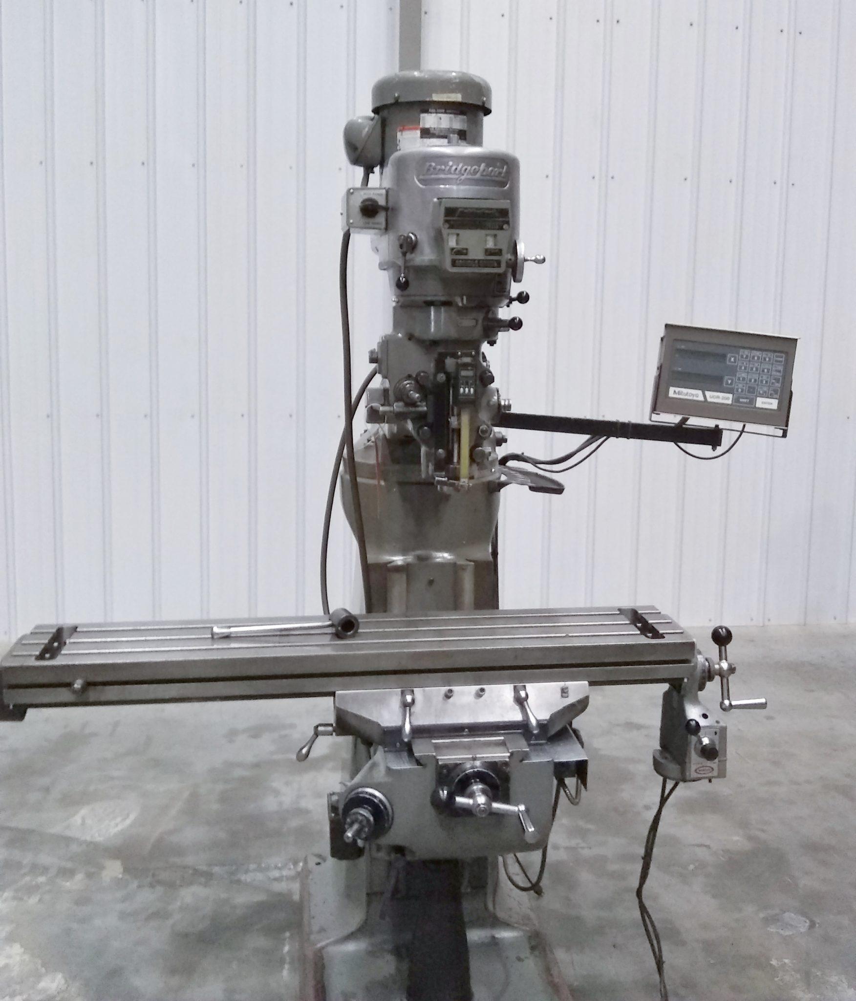 """Bridgeport Series I Vertical Knee Mill, 9"""" x 48"""" Table"""