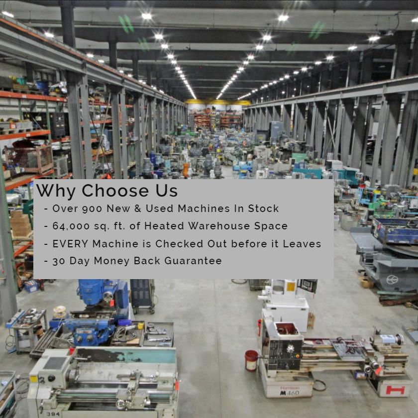 Vanderziel Machinery Warehouse
